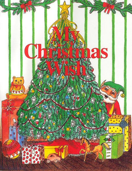 My Christmas Wish Personalized Childrens Book