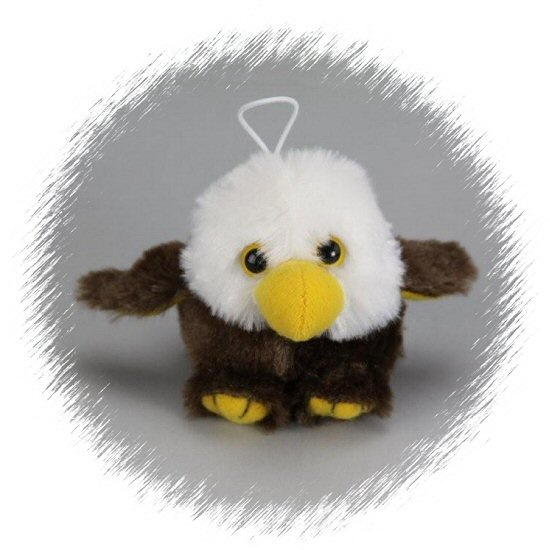 Baby Freedom Eagle Cushy Kids Stuffed Animal By Purr Fection By Mjc