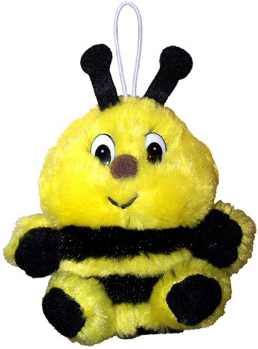 Baby Speller Bumblebee Cushy Kids Stuffed Animal By Purr Fection By Mjc