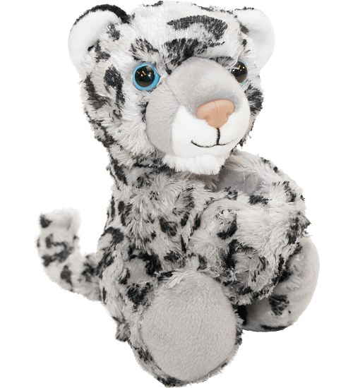Snow Leopard Huggers Stuffed Animal By Wild Republic