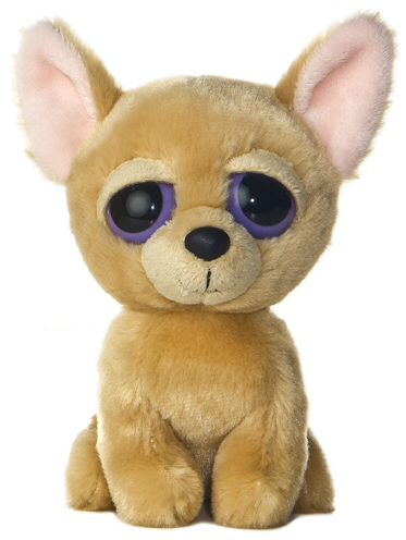 Cutie Chihuahua Dog Dreamy Eyes Stuffed Animal By Aurora World