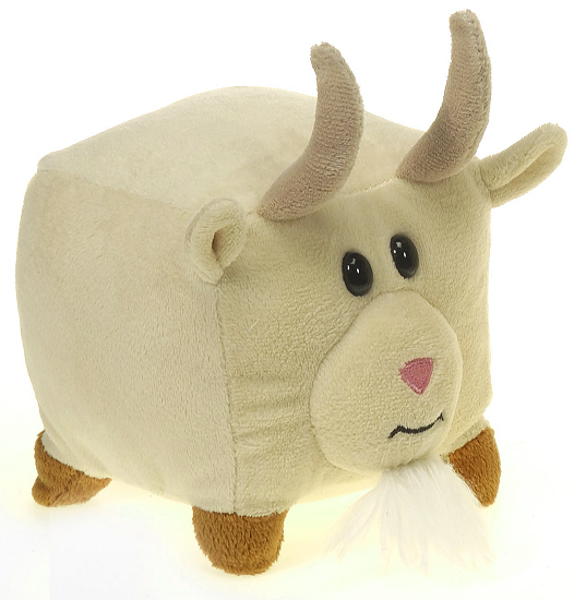 Square Goat Small The New Round Stuffed Animal By Fiesta