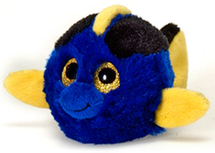 Dizzy blue tang fish lubby cubbies stuffed animal by fiesta for Blue tang fish price