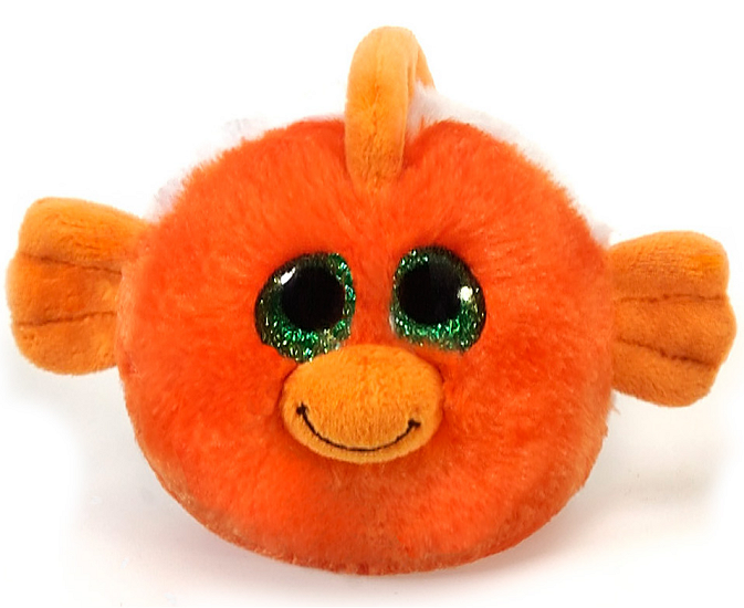 Giggles clown fish lubby cubbies stuffed animal by fiesta for Fish stuffed animals
