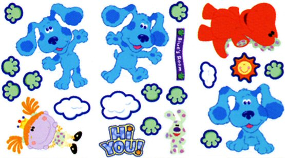 Blues Clues Wall Decals & Wall Stickers