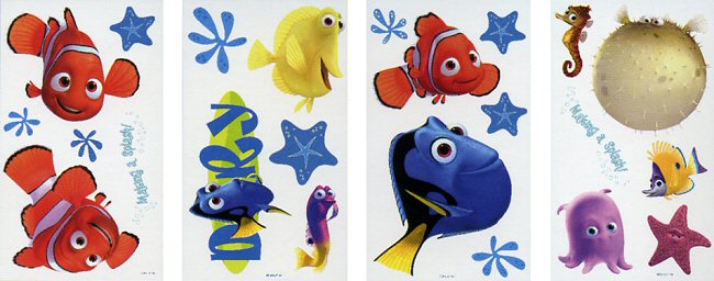 Finding Nemo Wall Decals Part 45