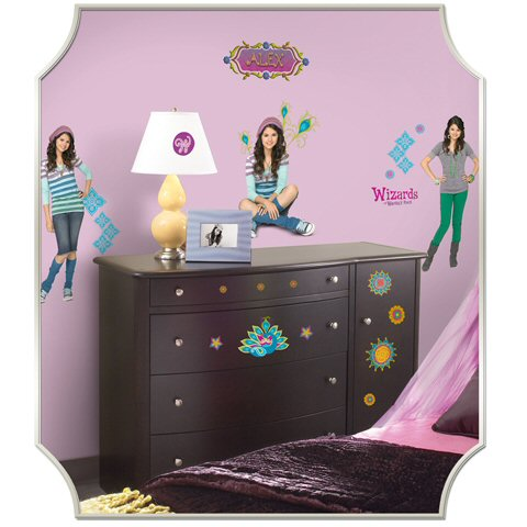 Wizards Of Waverly Place Wall Decals Room Shot