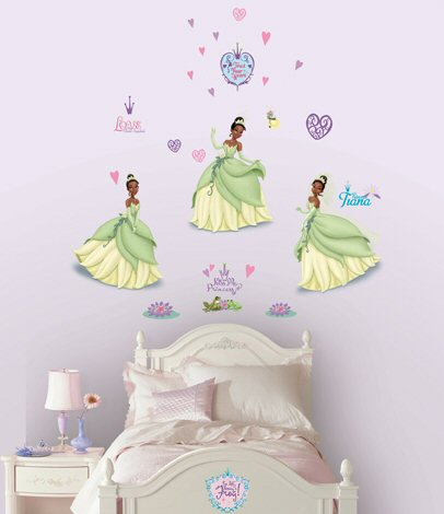princess the frog wall decals wall stickers