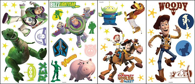 Toy Story Wall Decals & Wall Stickers