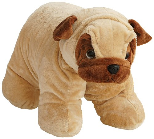 Stuffed Animal Dog Pillow : Pug Dog Hugga Pet Pillow Stuffed Animal by Bestever