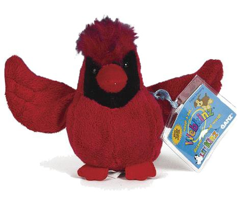 Lil Kinz Cardinal Webkinz Stuffed Animal By Ganz