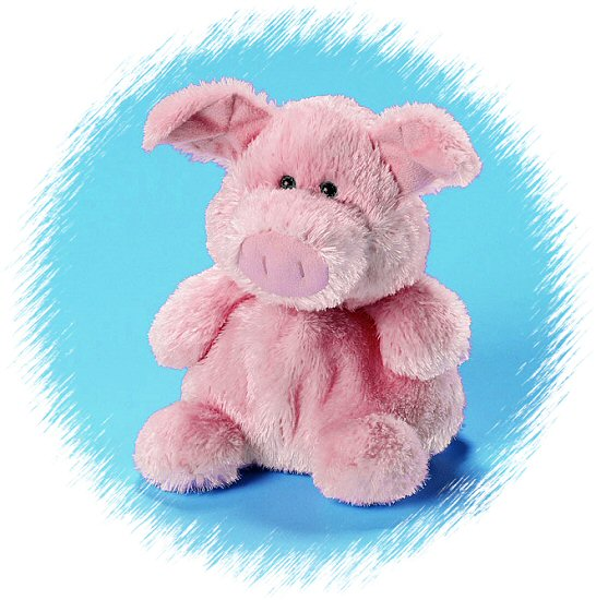 Celeste Pig Luvvies Stuffed Animal By Russ Berrie