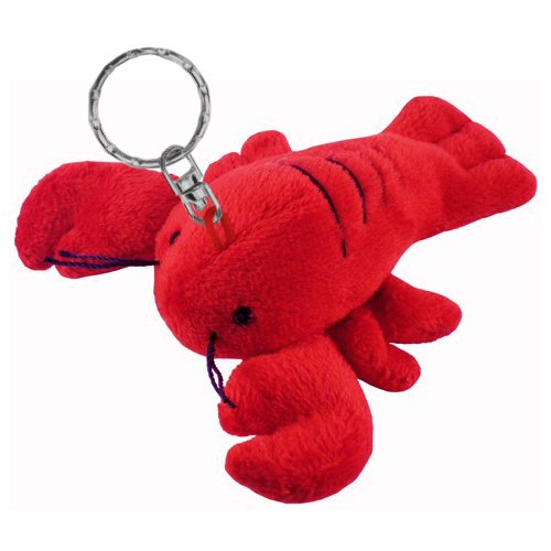 Lobster Plush Keychain Stuffed Animal By Puzzled