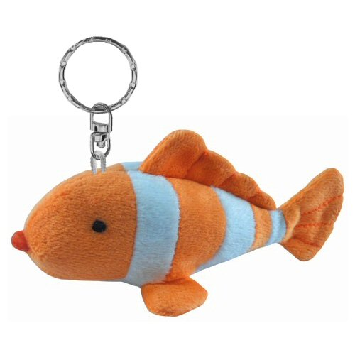 Clown fish plush keychain stuffed animal by puzzled for Fish stuffed animal