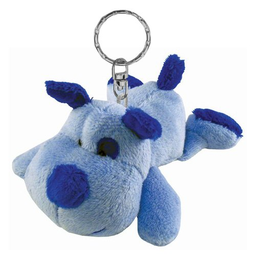 dog blue plush keychain stuffed animal by puzzled. Black Bedroom Furniture Sets. Home Design Ideas