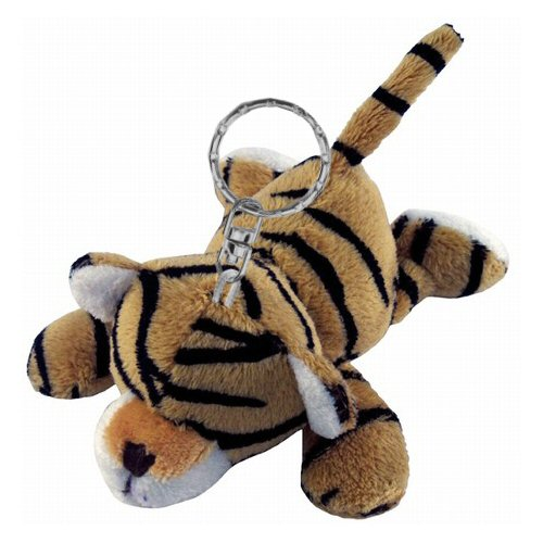 Tiger Plush Keychain Stuffed Animal By Puzzled