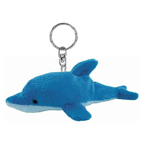 Dolphin Plush Keychain Stuffed Animal By Puzzled
