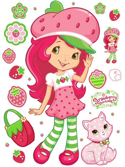 Strawberry Shortcake Roommates Giant Wall Decal