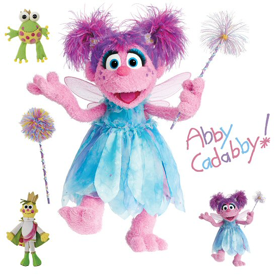 sesame street abby cadabby roommates giant wall decal. Black Bedroom Furniture Sets. Home Design Ideas