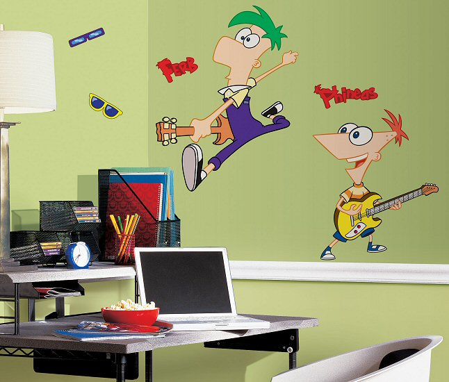 Phineas And Ferb Room Decor