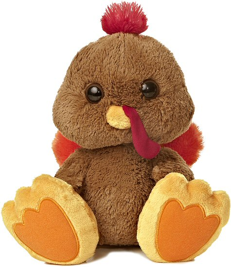 Stuffins Turkey Taddle Toes Stuffed Animal By Aurora