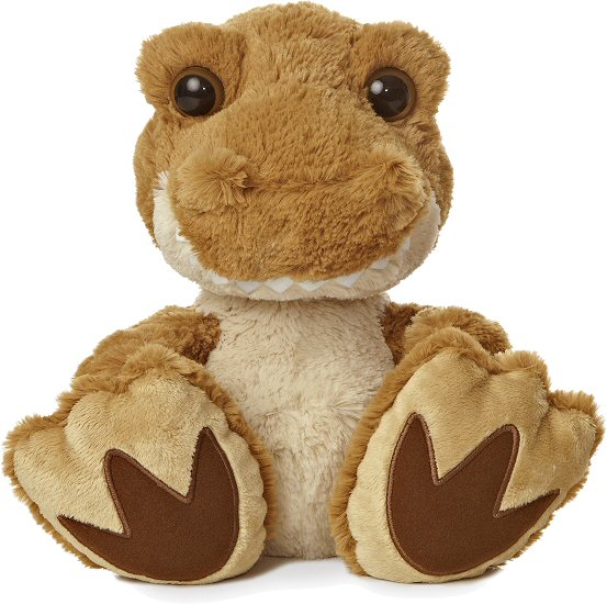 Roaree T Rex Dinosaur Taddle Toes Stuffed Animal By Aurora