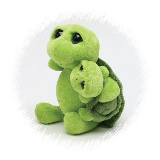 Big Eyes Turtle Baby Green Stuffed Animals By Unipak