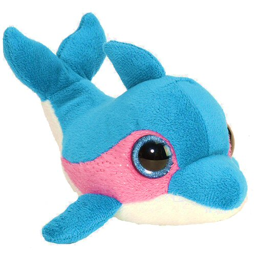 Blue Raspberry Dolphin Li L Sweet Sassy Stuffed Animal By Wild